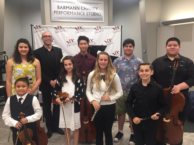 Soloists from the Tulare County Youth Symphony
