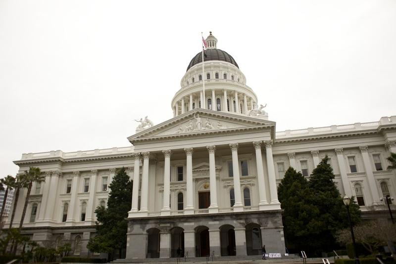 The California State Capitol Building in Sacramento (file photo)