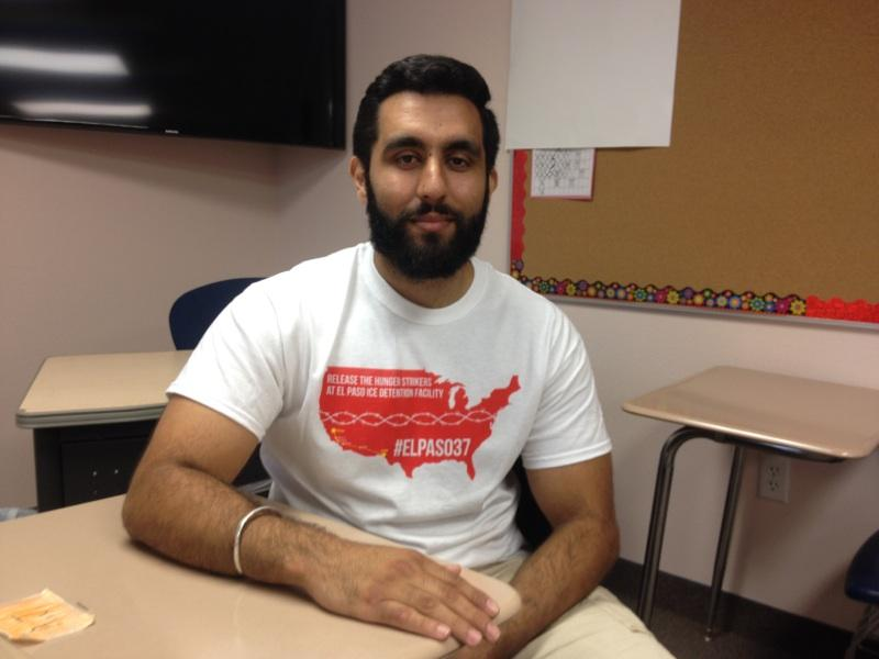 Iqbal Singh is one of the twelve heading to El Paso, Texas.