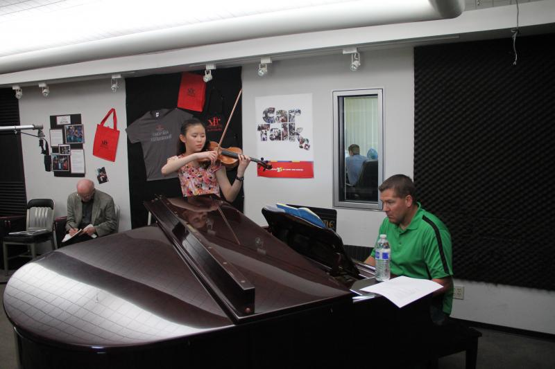 Joanne Chen performs on Young Artists Spotlight