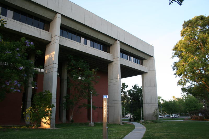 Fresno State's Madden Library - designed by William Patnaude