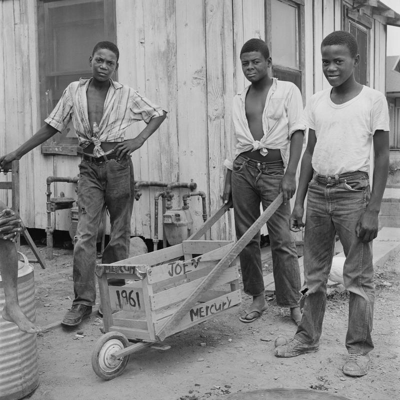 The new exhibit Ernest Lowe: Black Migrants In The Central Valley opens at the Fresno Art Museum July 13th, 2018