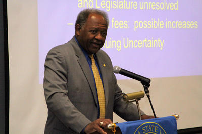 CSUB President Horace Mitchell (file photo)
