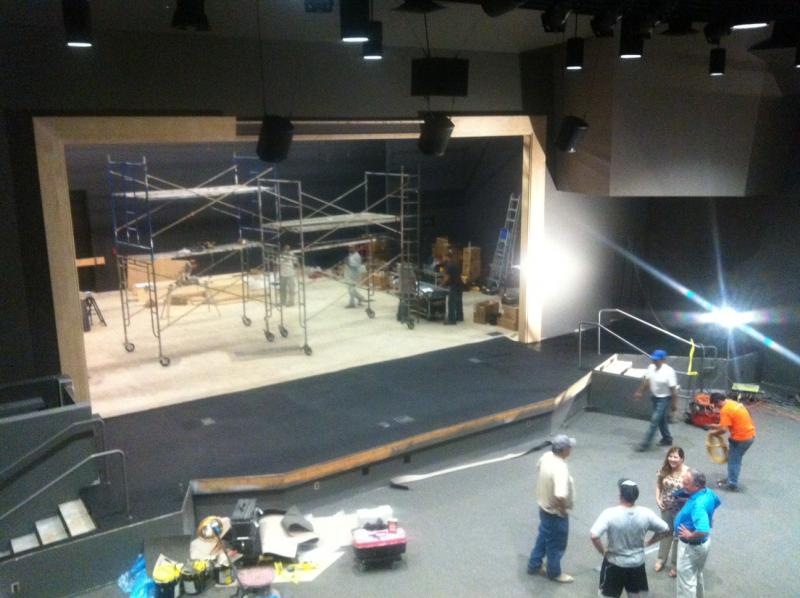 The new theater inside the Selma Arts Center features an all LED lighting setup.