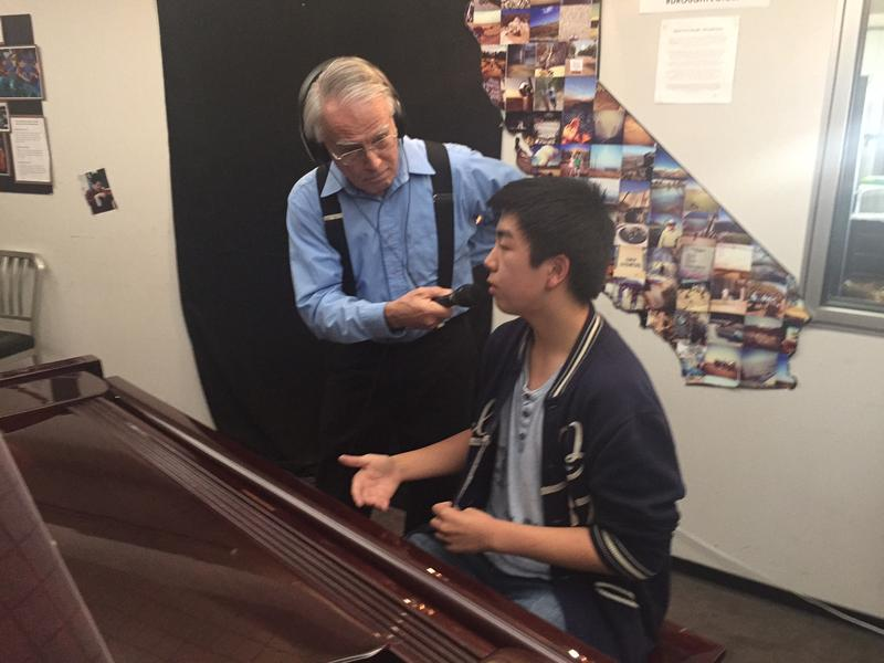 George Mason interviews pianist Phillip Teng