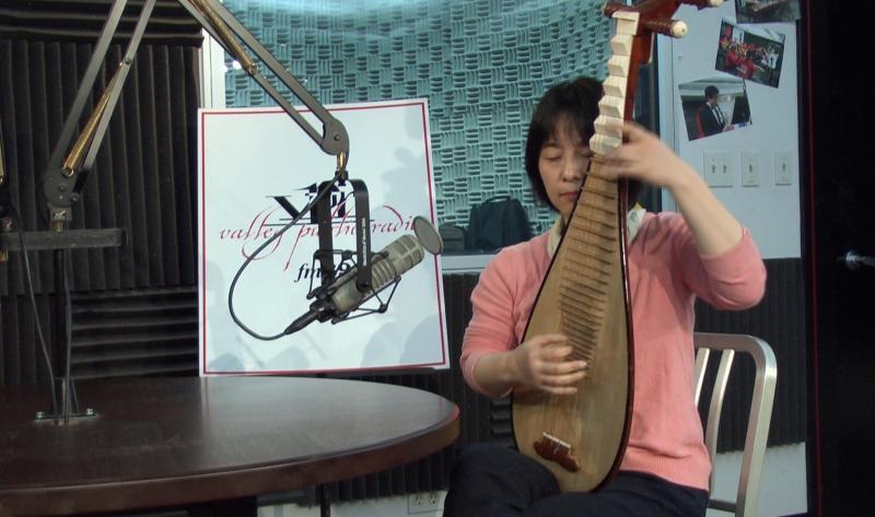Pipa artist Wu Man