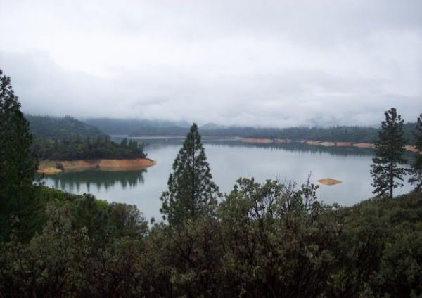 Lake Oroville in northern California - file photo