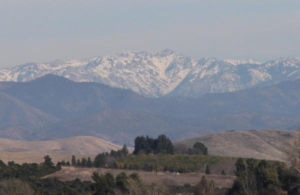 California's water managers say a dry January has left water content in the Sierra snowpack below the average. (file photo)