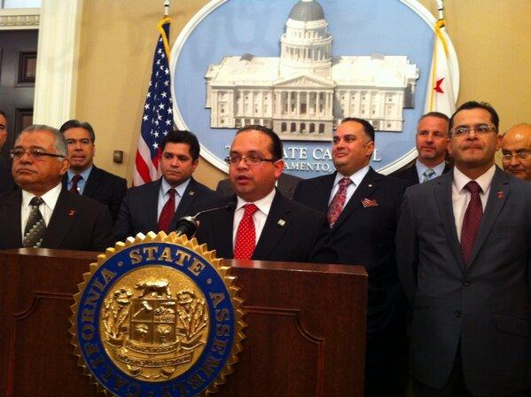 Two dozen California lawmakers attended Thursday's news conference at the State Capitol supporting a potential immigration deal in Congress.
