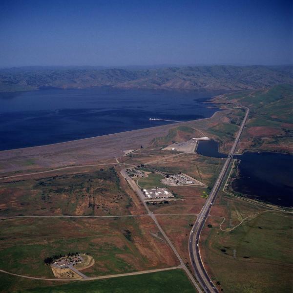San Luis Reservoir near Los Banos