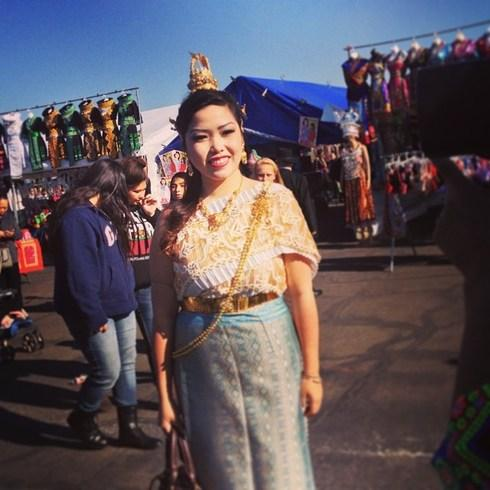 Thousands of youth flocked to the Fresno Fair Grounds for Hmong New Year. #Iamhmong