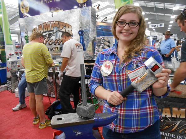 Megan Murphy is 25-years-old and the president of Hammer Works Manufacturing in Visalia, Calif.