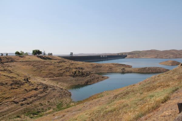 Friant Dam is made up of just under a billion pounds of concrete.