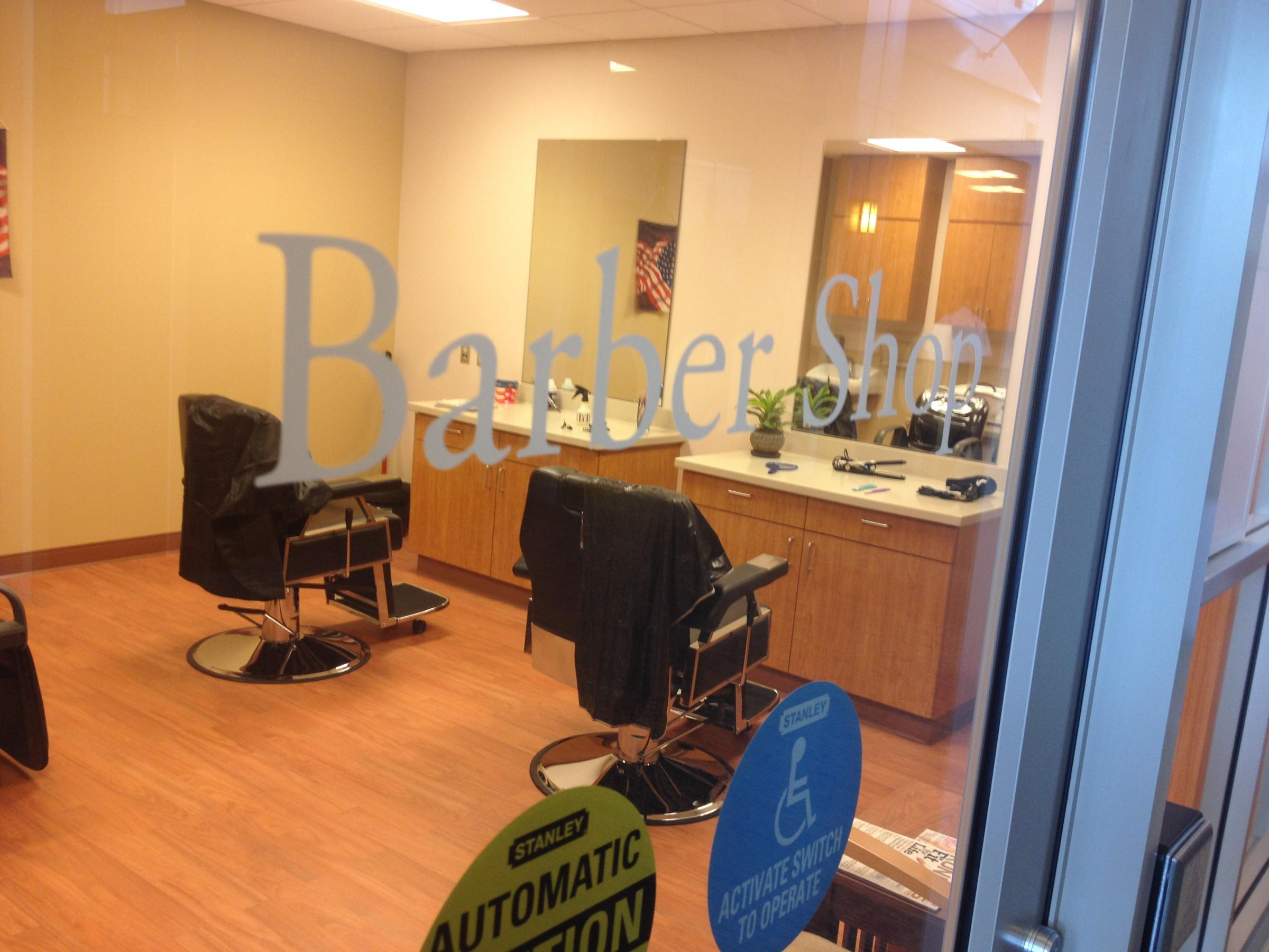Barber Shop Fresno : ... corridor is lined with shops like a barber shop and a general store