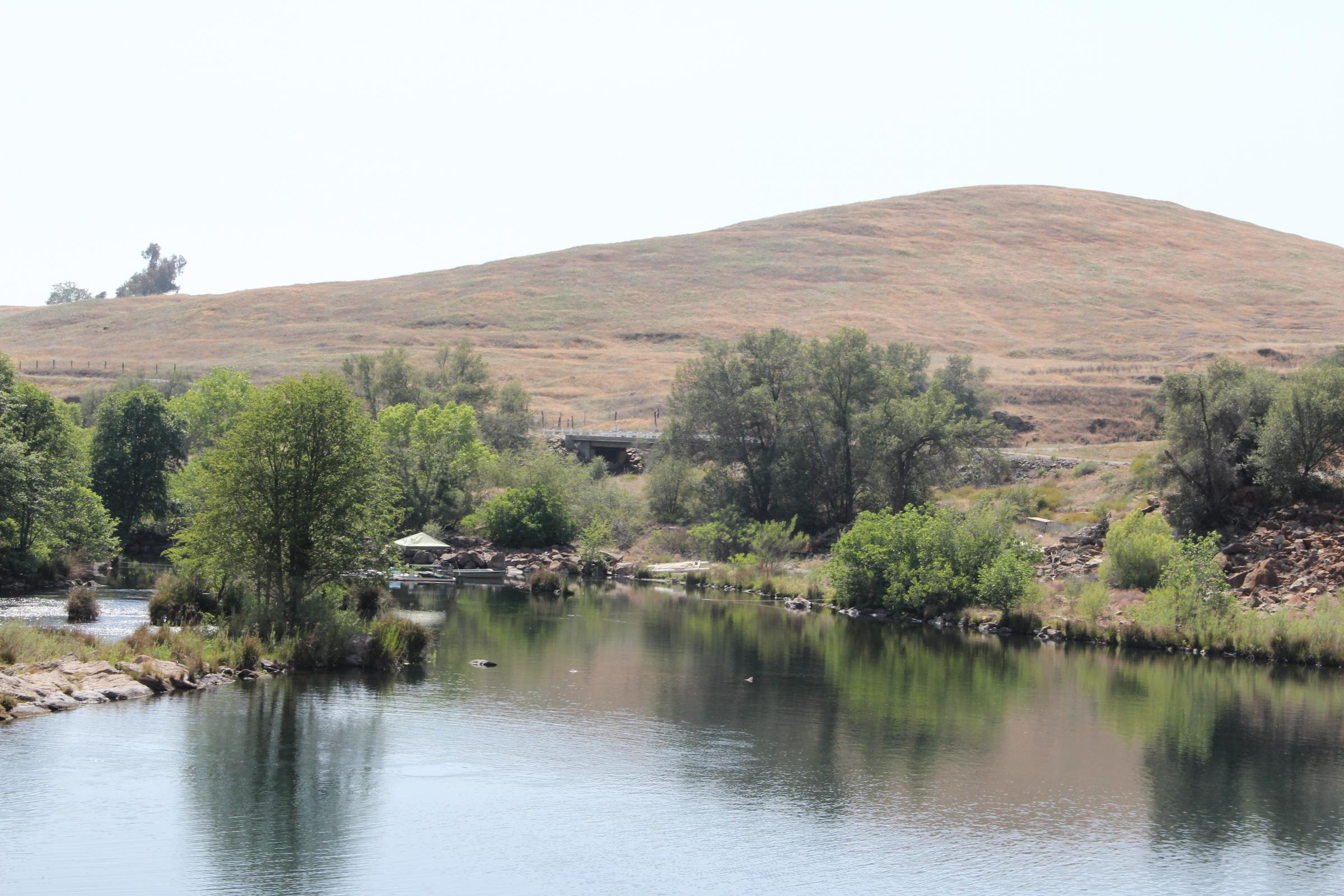 Voices of the drought the man inside fresno 39 s friant dam for Millerton lake fishing