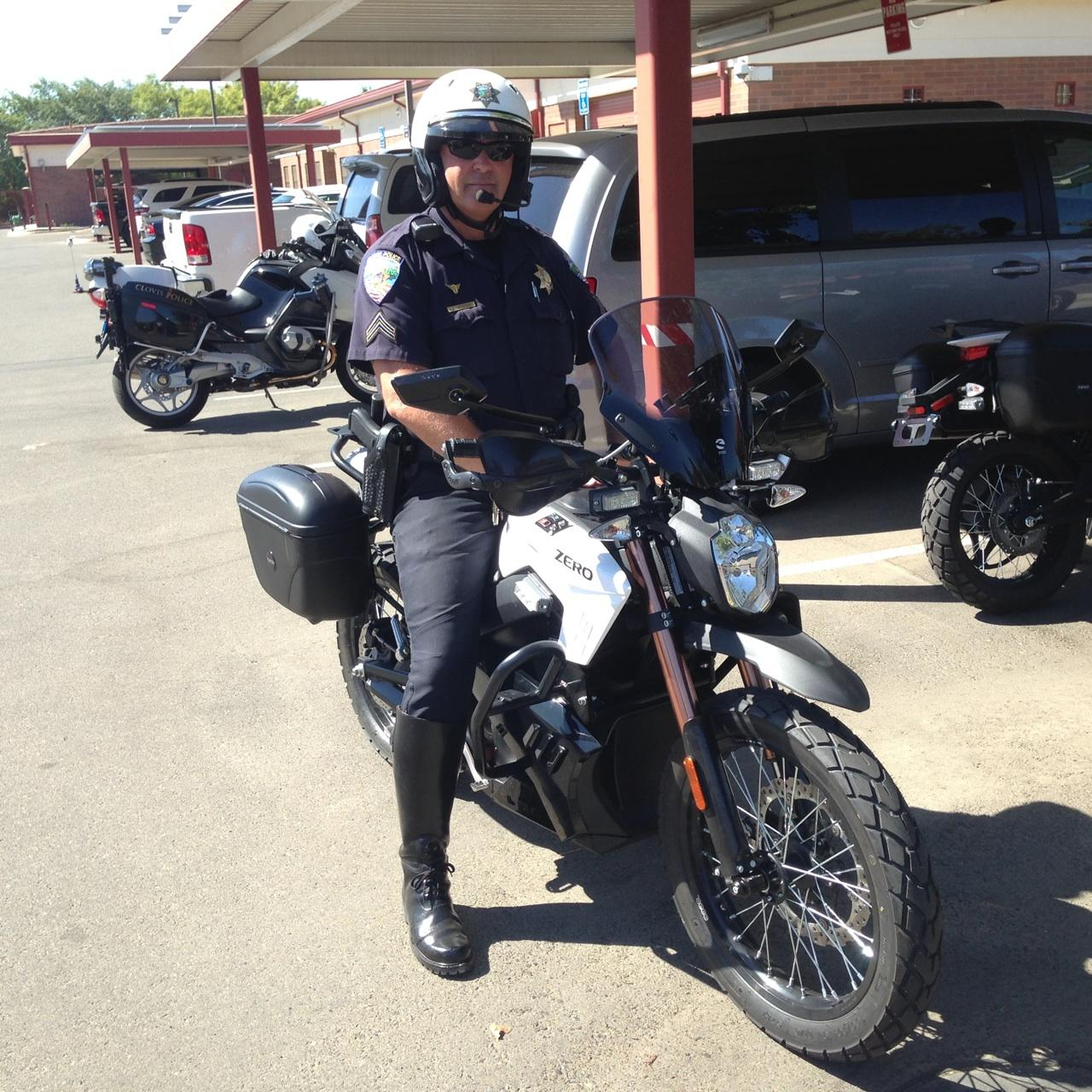 John Weaver Is A Traffic Corp For The Clovis Police Department He And His Fleet Will Begin To Use Electric Motorcycles As Soon Friday