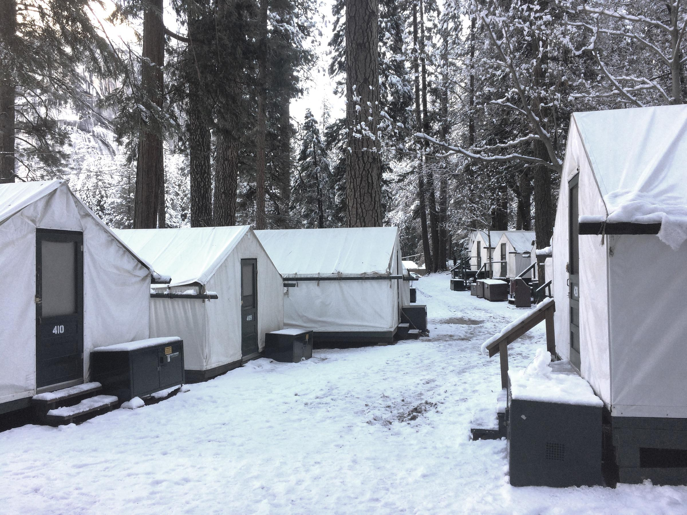 glamping evergreen fresh outside ca yosemite cabins clean rustic pin lodge with just