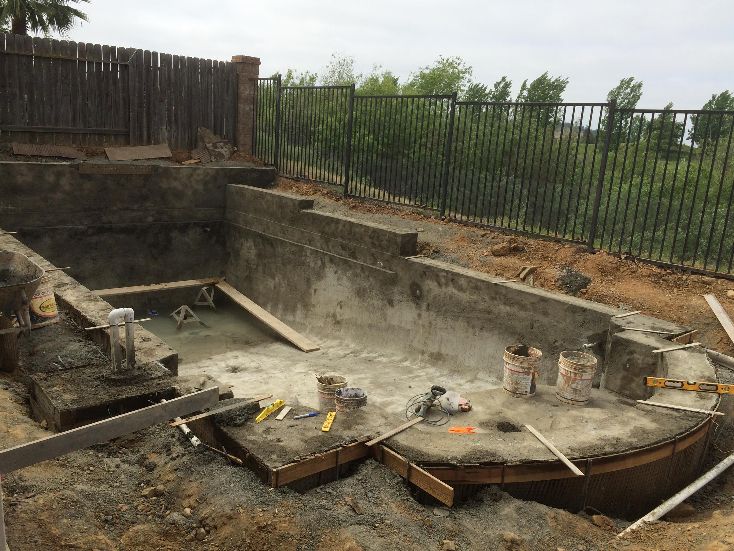 California pool construction soars during drought valley for Swimming pool construction