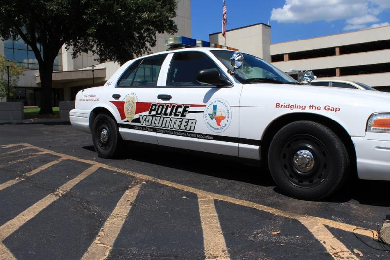 Citizens on Patrol vehicle