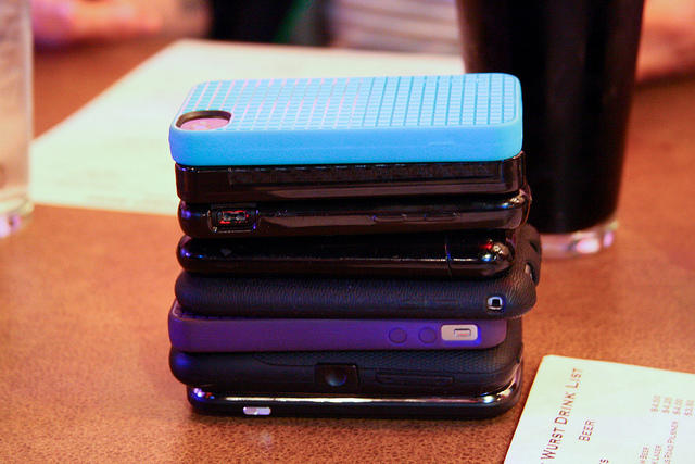 An example of a phonestack