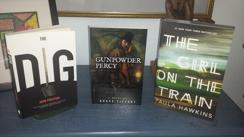 "Tiffany's latest novel ""Gunpowder Percy"" was reviewed on Likely Stories earlier this year."