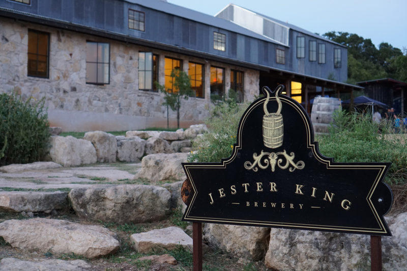 The Jester King Brewery sits just outside Dripping Springs.
