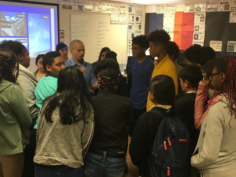 Cody Jones teaches an 8th Grade Science Class