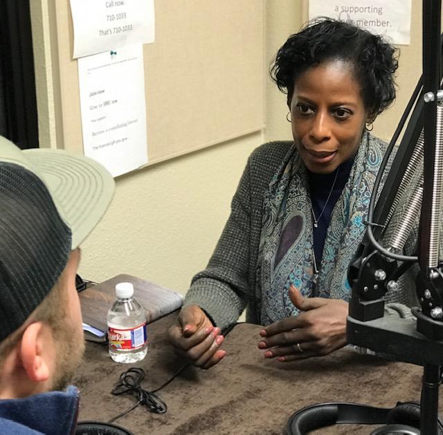 Patricia Chisolm-Miller speaks with Austin Meek in the KWBU Studios.