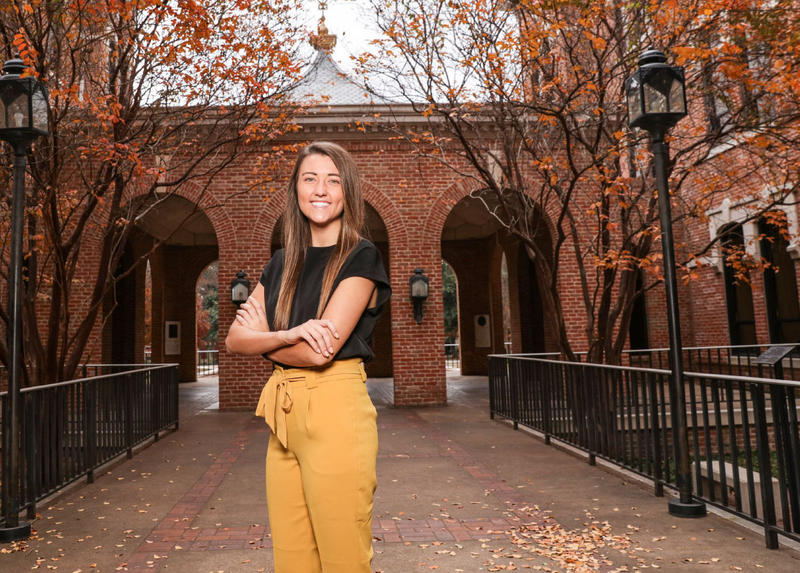 Hannah Causey is the Student Body President at Baylor University.