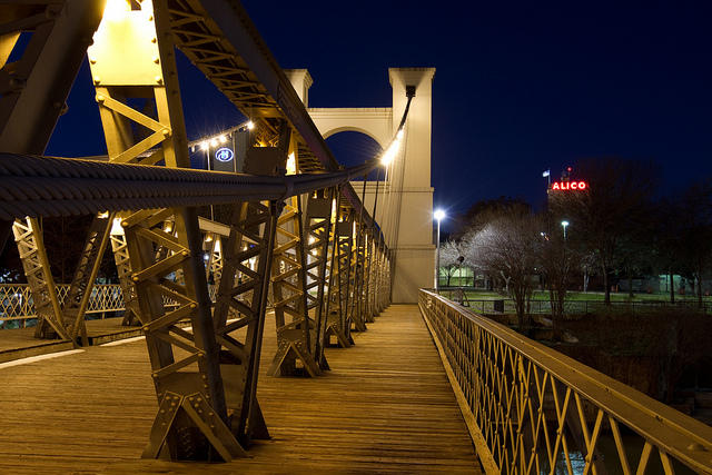 Waco to be featured in c span series kwbu for Texas bridge series