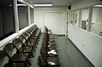 The Execution Witness Room At The State Prison
