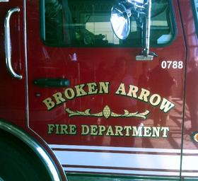 Broken Arrow Police and Fire responded to the crash
