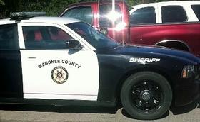 A Wagoner County Sheriff's squad car