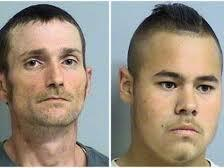 Suspects Alvin Watts and Jacob England