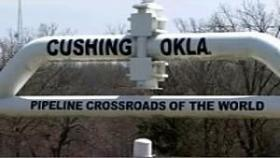 Cushing would be the XL Pipeline's hub