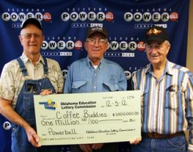 The Collinsville lottery winners