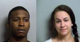 Clarence Holden and Destiny Niles. Also arrested was Deron Maxey his photo was not available at the Sheriff's office.