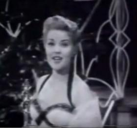 Patti Page from a 1950 TV appearance.