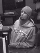 The bank captured this photo of the suspect.