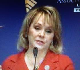 Mary Fallin in a file photo