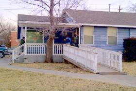 OBN Agents serve an arrest warrant at a Lawton home.
