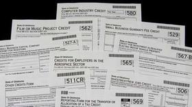 Oklahoma tax forms