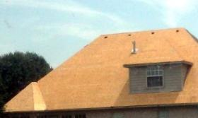 A Bixby home gets a new roof following hail damage
