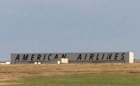 The American Airlines base in Tulsa.
