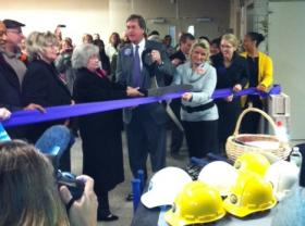 Ribbon cutting for new Tulsa Family Safety Center