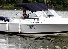 File photo of a Highway Patrol Marine Division boat