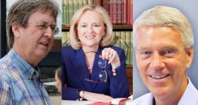 Dewey Bartlett, Kathy Taylor, Bill Christiansen