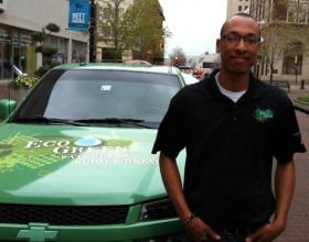 Eco-Green Mobile Detailing is an exhibitor at the annual Enviro Expo in downtown Tulsa