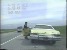 McVeigh's traffic stop on I-35 90-minutes after the bombing