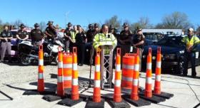 Highway and Public Safety Officials announce Work Zone Safety Week